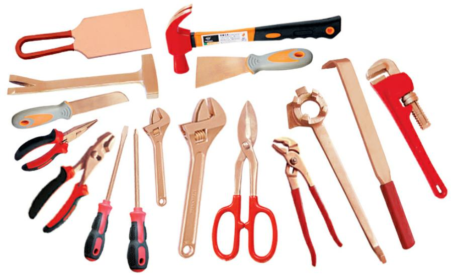 Classification of Non-Sparking Tools Materials