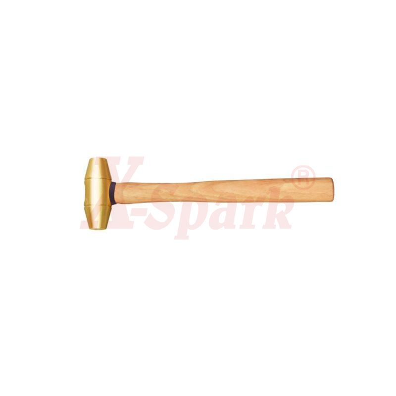 2103B Brass Hammer Drum Type