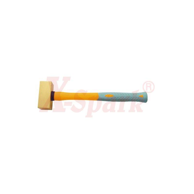2106A Double face brass hammer