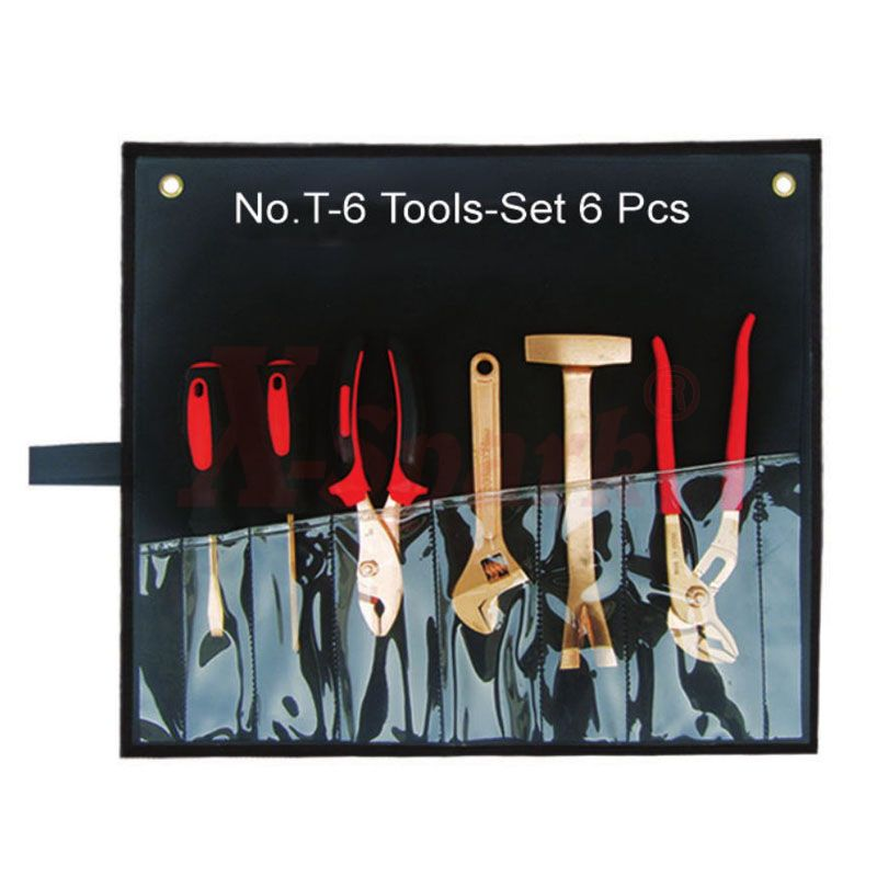 No.T-6 Tool Set 6pcs