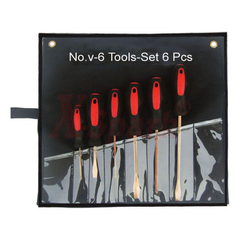 No.V-6 Tool Set 6pcs