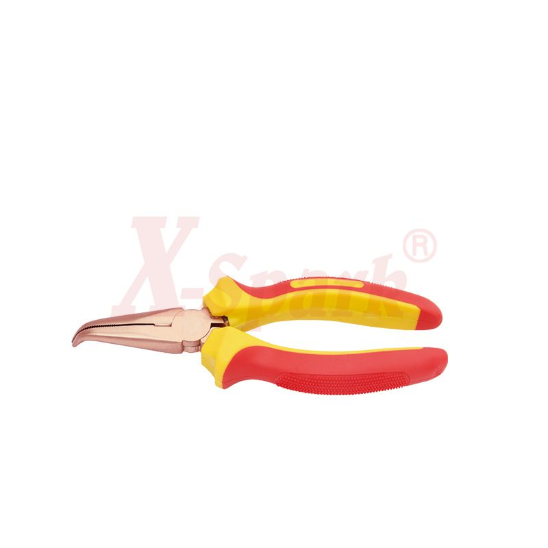 6204 Injection Round 45 Degree Bent Pliers