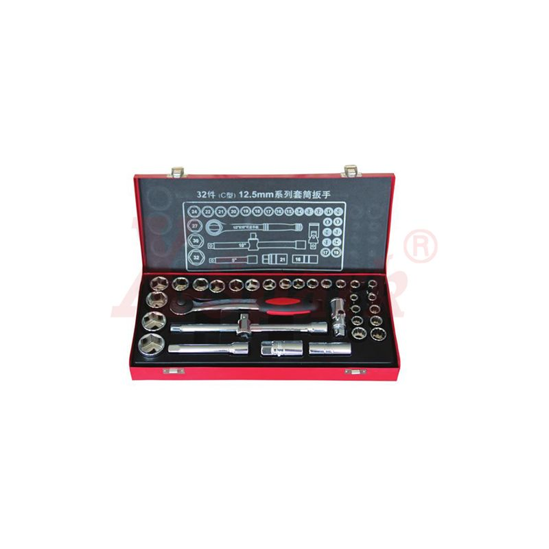 "4307 32pcs 1/2"" Dr.socket Wrench Set"