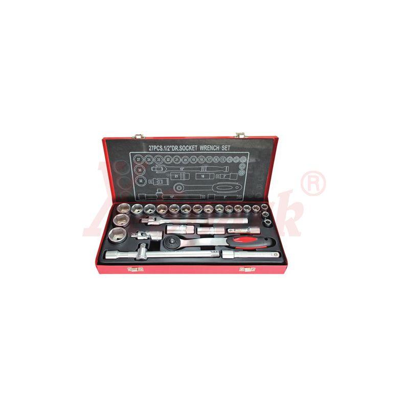 4308 27pcs 1/2 Dr.Socket Wrench Set