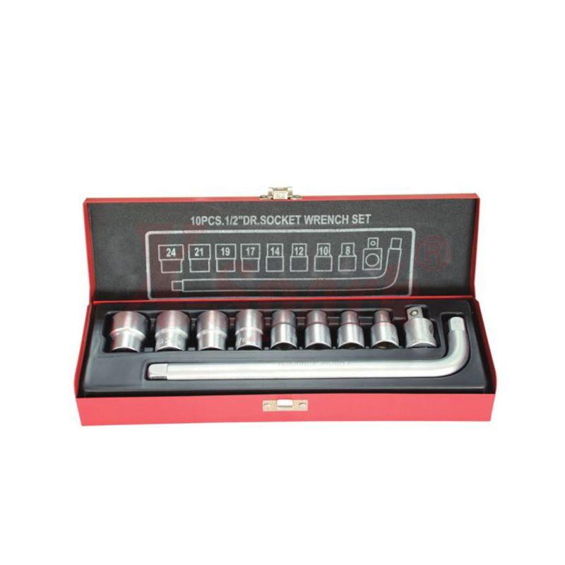 4310 10pcs 1/2 Dr Socket Wrench Set