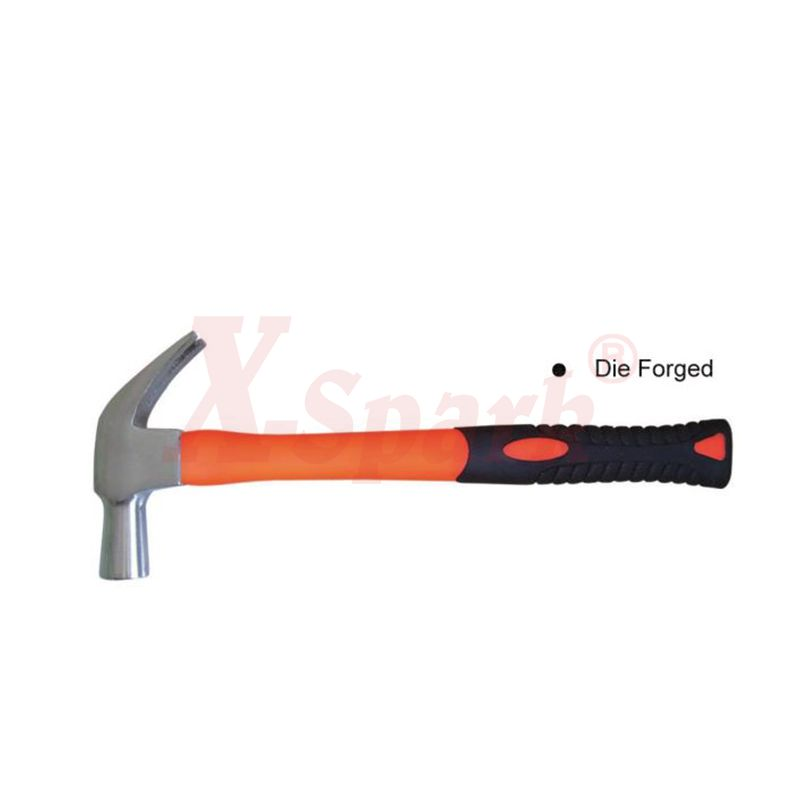 4204 British Type Claw Hammer With Plastic Coating Handle